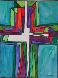 unity-cross-teal-prophetic-art-painting-sm