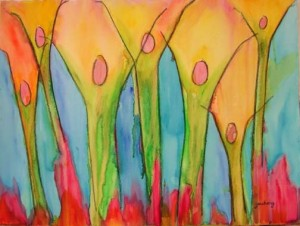 worship-garden-prophetic-art-painting